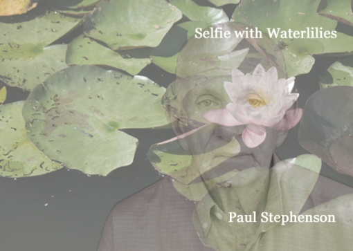 selfie 1 man and waterlily