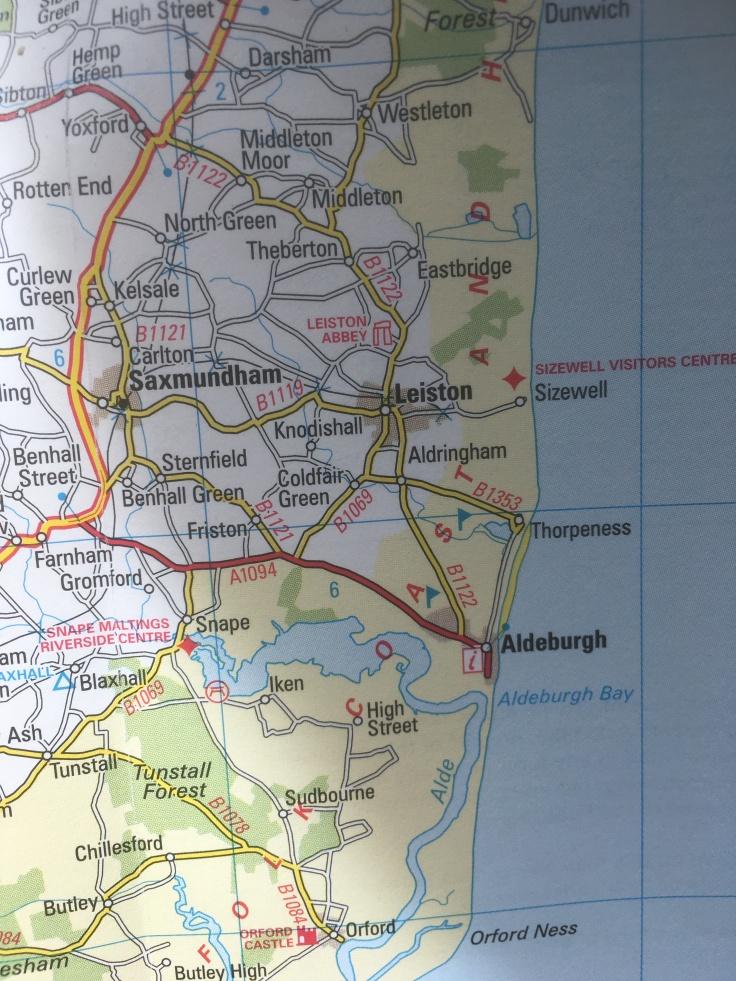 Aldeburgh Map
