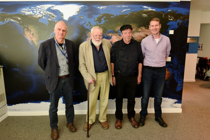 John Fanshawe Michael Longley Michael Mackmin Matt Howard photo by Yasmine Rix