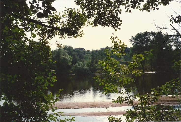 River Narew, Poland, 1986